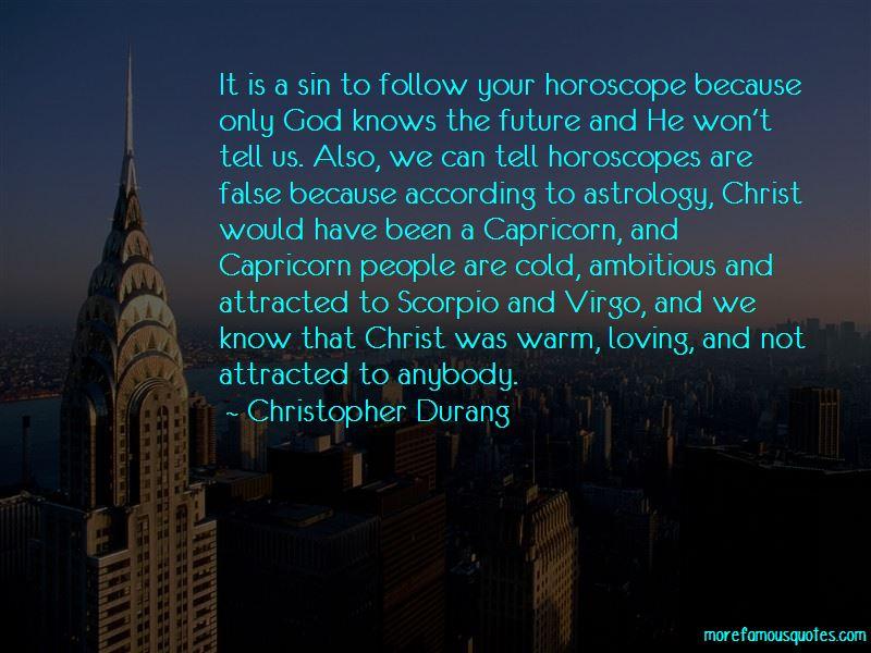 Scorpio And Capricorn Quotes
