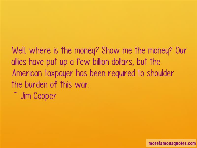 Show Me The Money Quotes
