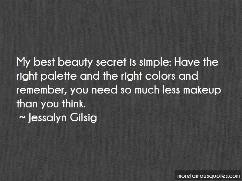 Simple Beauty No Makeup Quotes: top 2 quotes about Simple ...