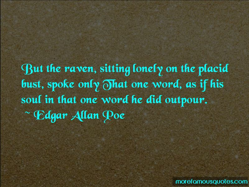 Sitting Lonely Quotes