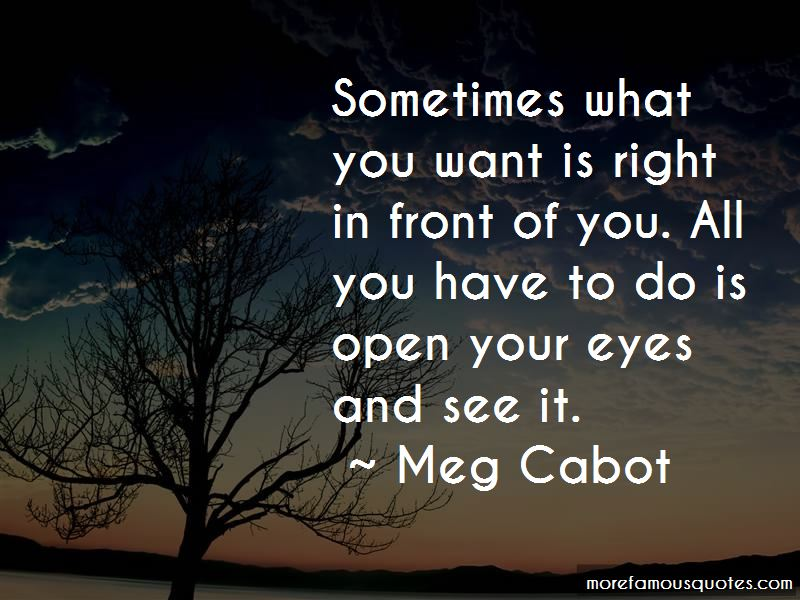 Sometimes What You Want Quotes