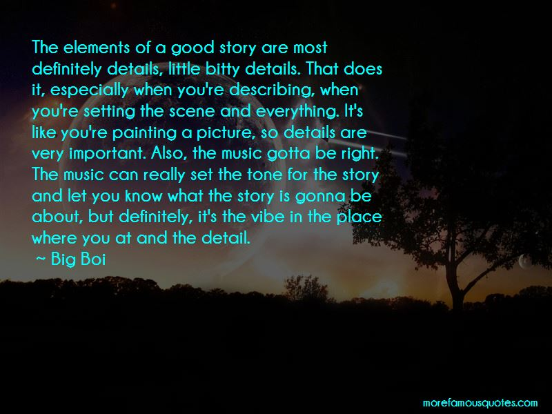 Story Elements Quotes Pictures 4