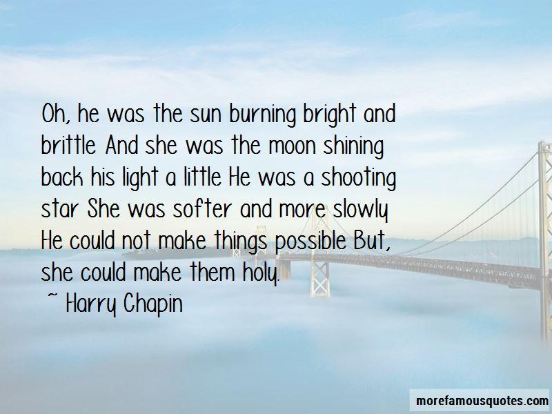 Sun Burning Quotes