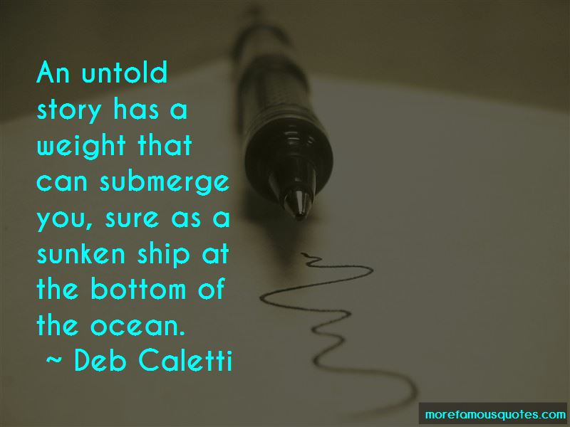 Sunken Ship Quotes