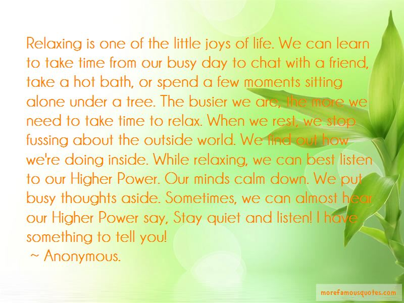 take time and relax quotes top quotes about take time and