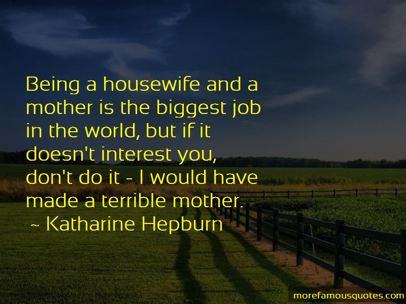 Terrible Mother Quotes