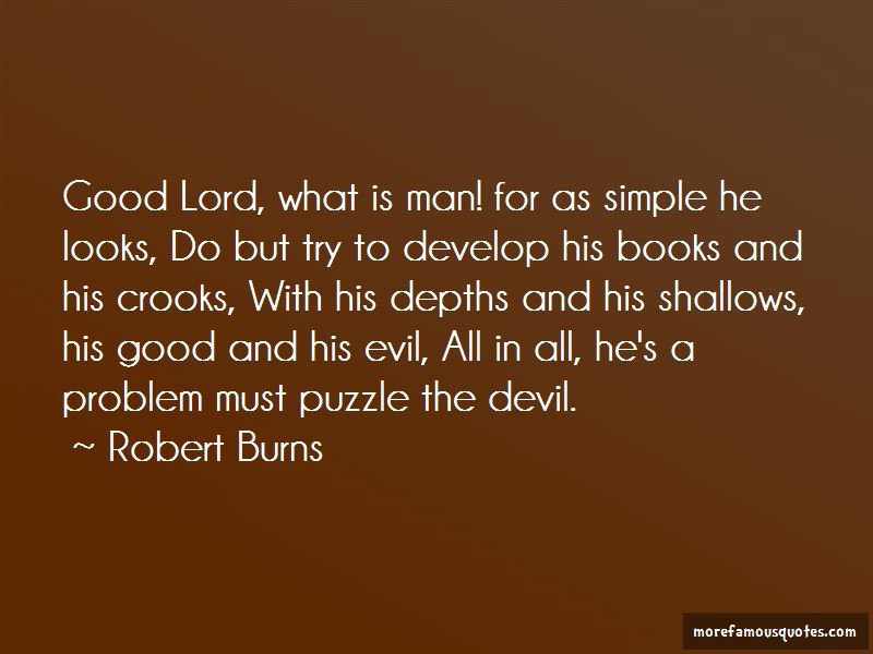 The Devil And The Good Lord Quotes