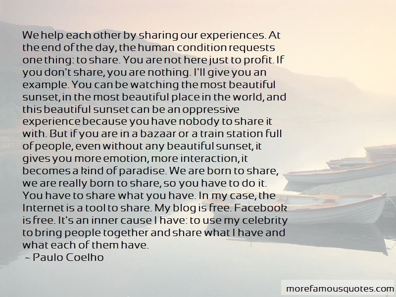 The Most Beautiful Place In The World Quotes