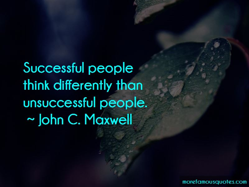 Think Differently Quotes