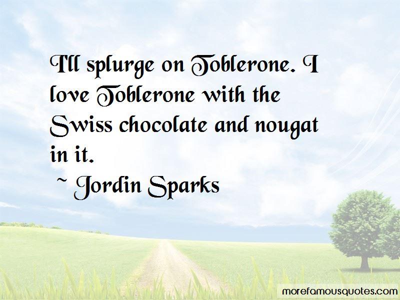 Toblerone Love Quotes