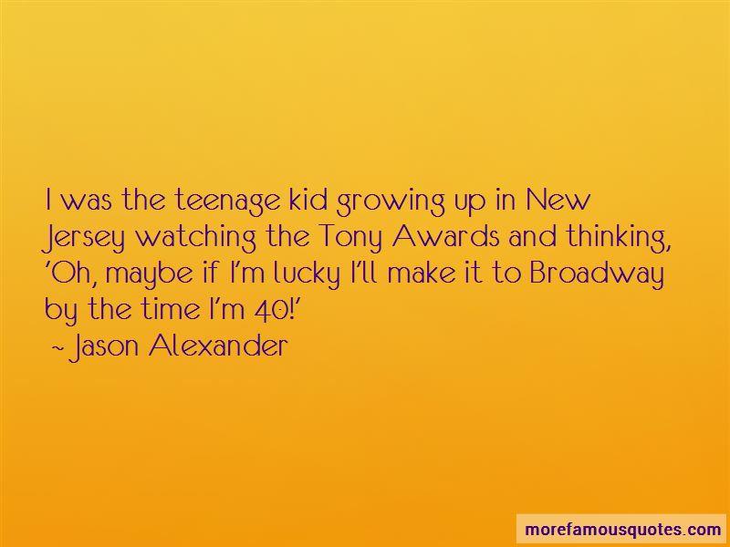 Tony Awards Quotes