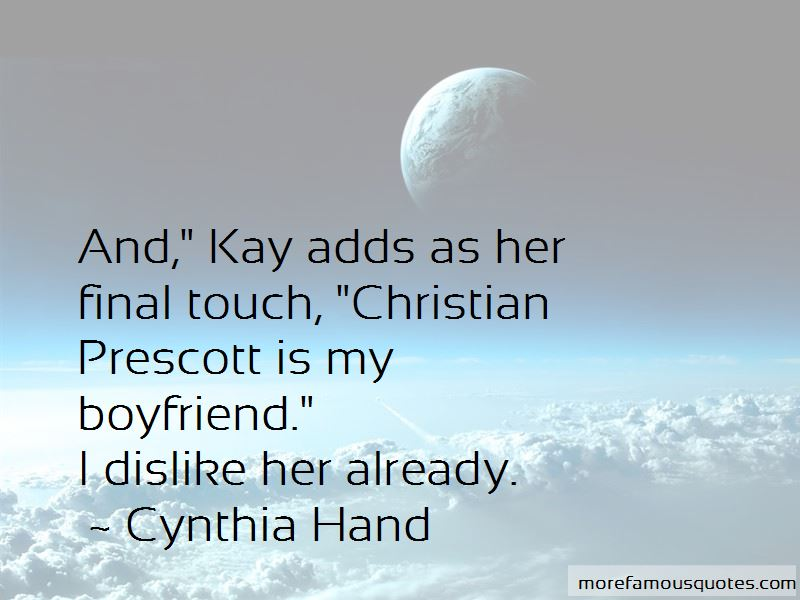 Touch My Boyfriend Quotes: top 8 quotes about Touch My ...