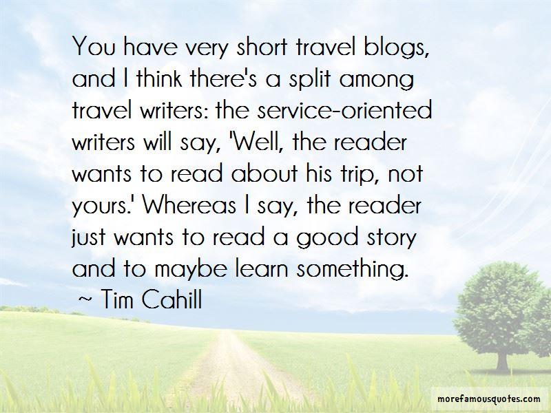 Travel Blogs Quotes