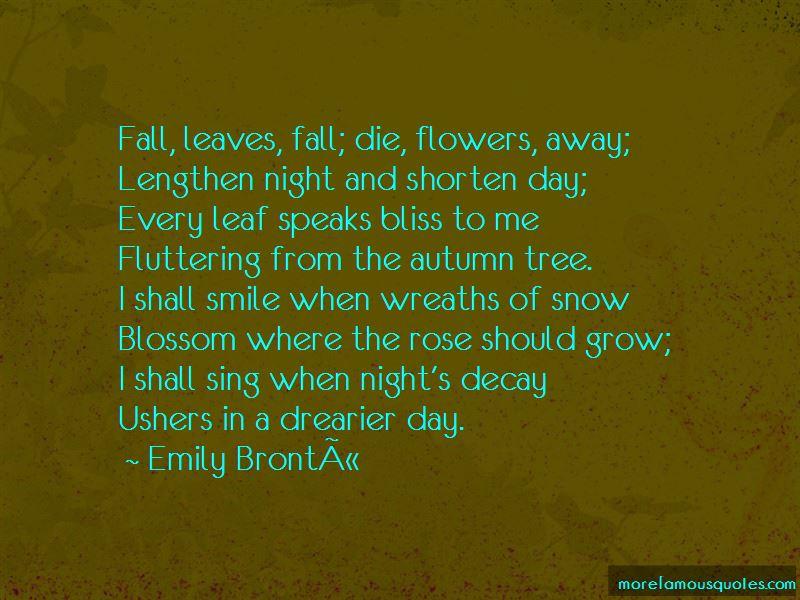 Tree Snow Quotes