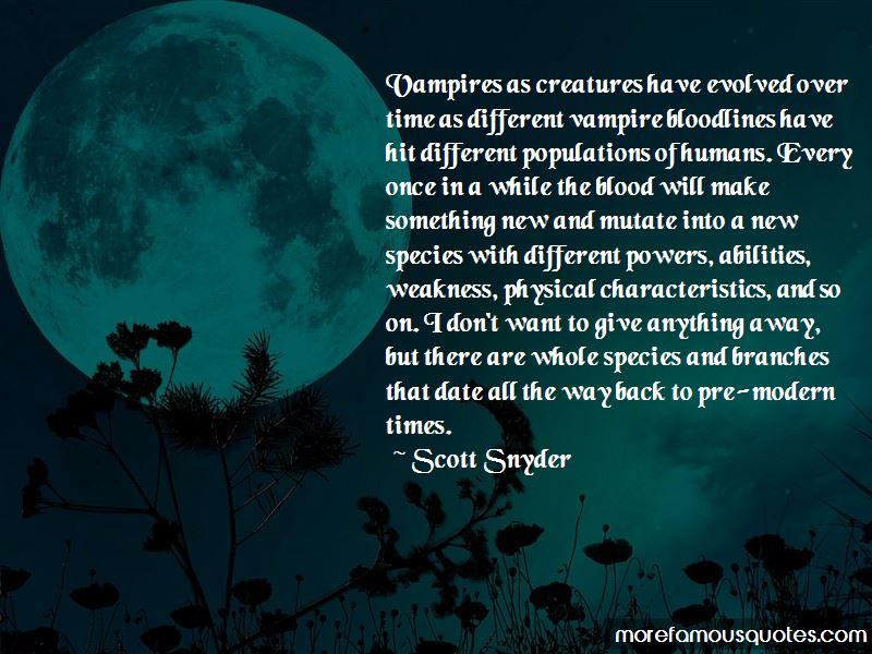 Vampire Bloodlines Quotes