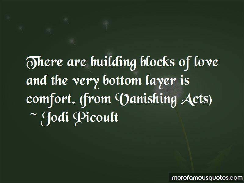Vanishing Acts Quotes