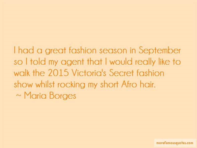 Victoria's Secret Fashion Show Quotes