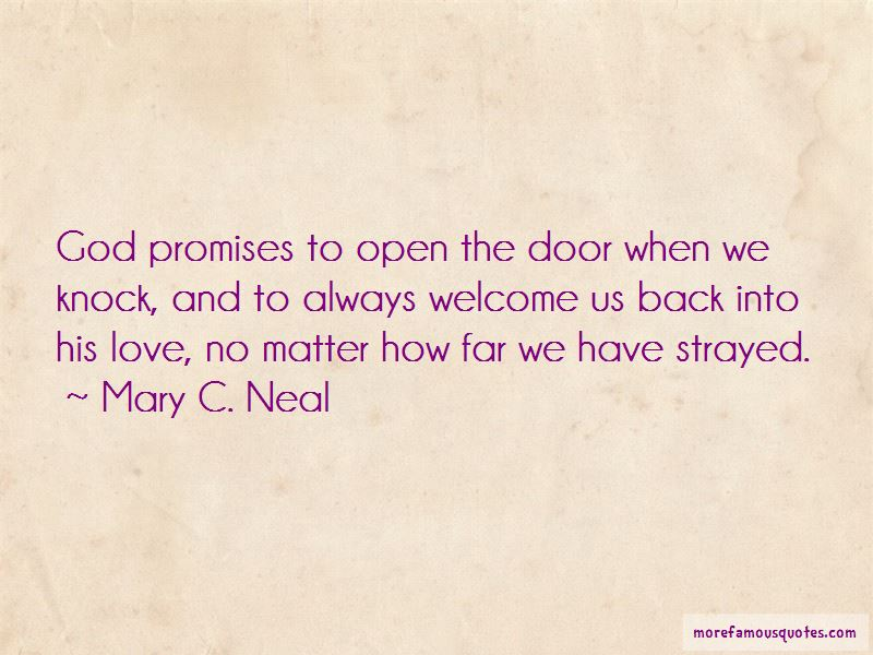 Welcome Back My Love Quotes