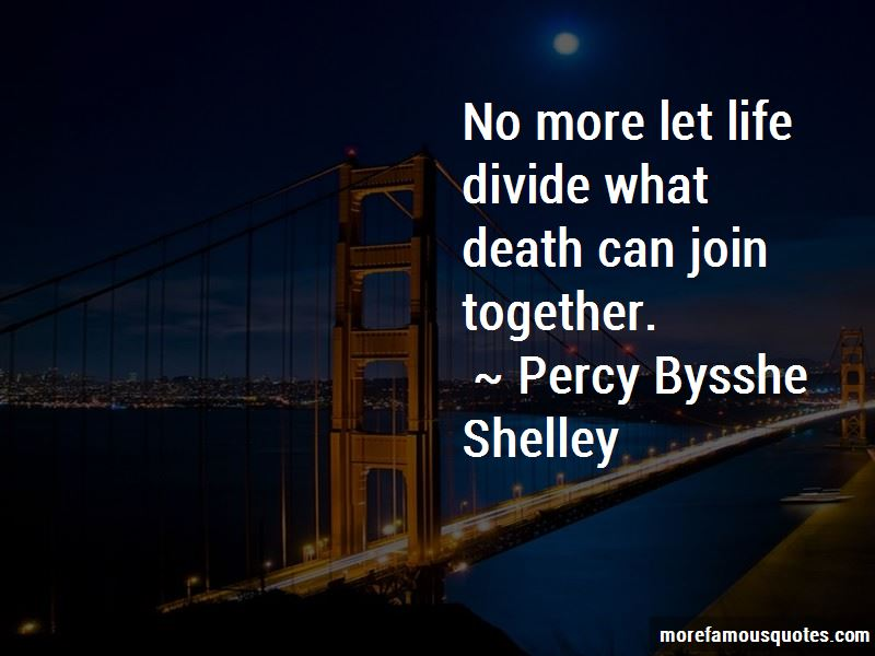 What Death Can Join Together Quotes