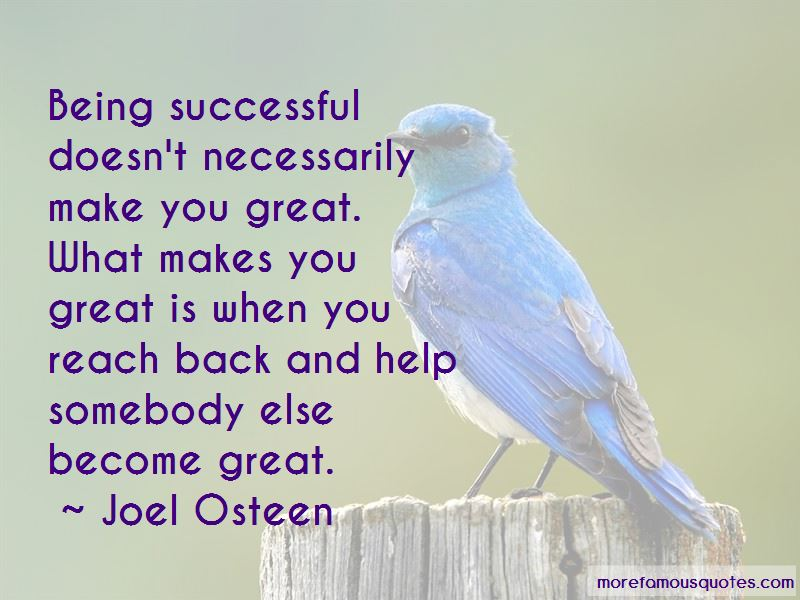 What Makes You Great Quotes