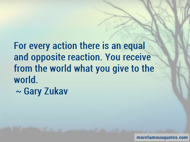 What You Give To The World Quotes