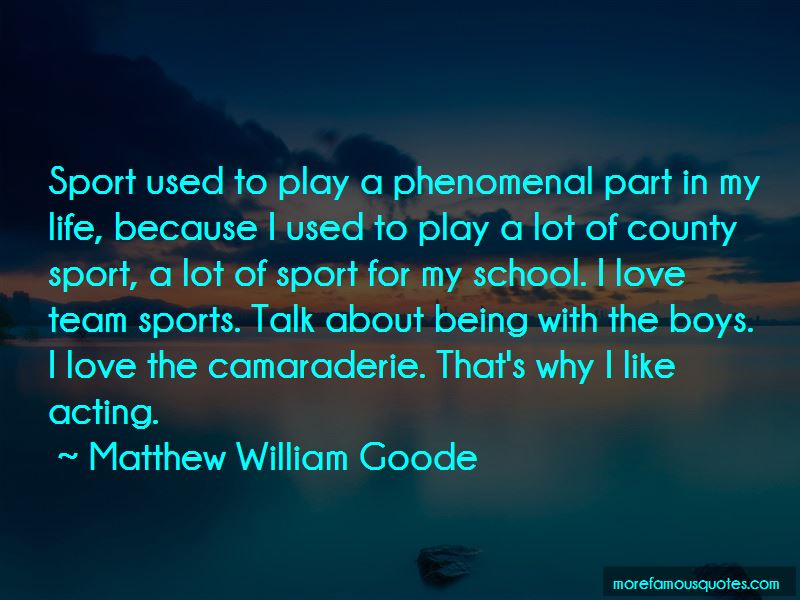Why Do We Play Sports Quotes