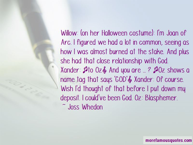 Willow And Xander Quotes
