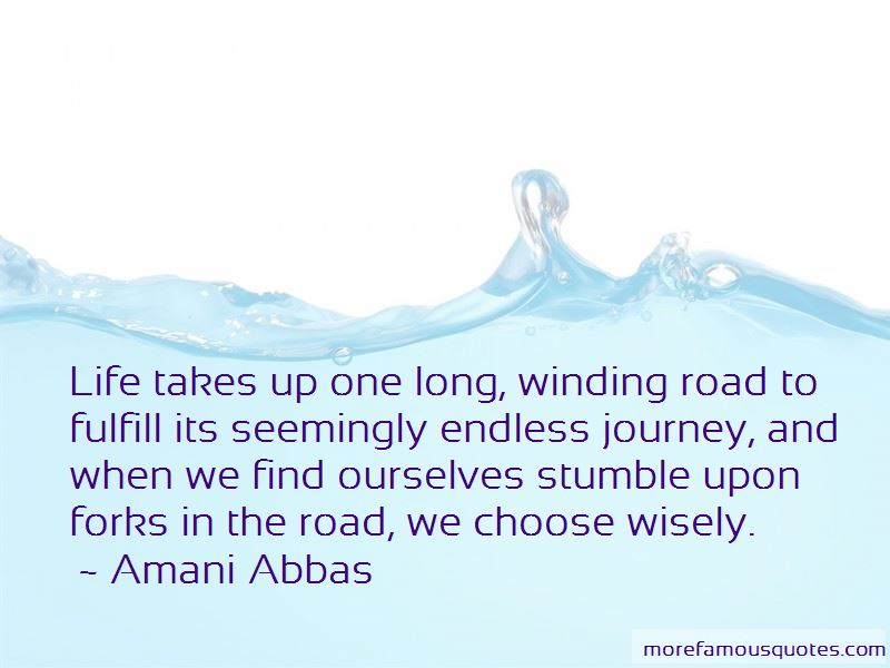 Winding Road Life Quotes Pictures 3