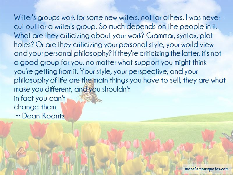 Work In Group Quotes Pictures 2