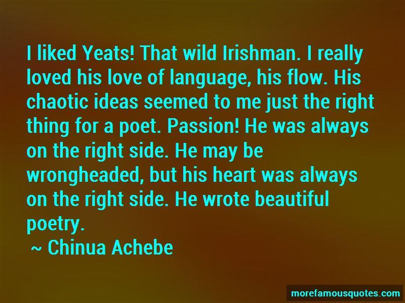 Yeats Love Poetry Quotes