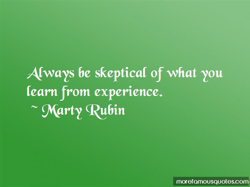 You Learn From Experience Quotes