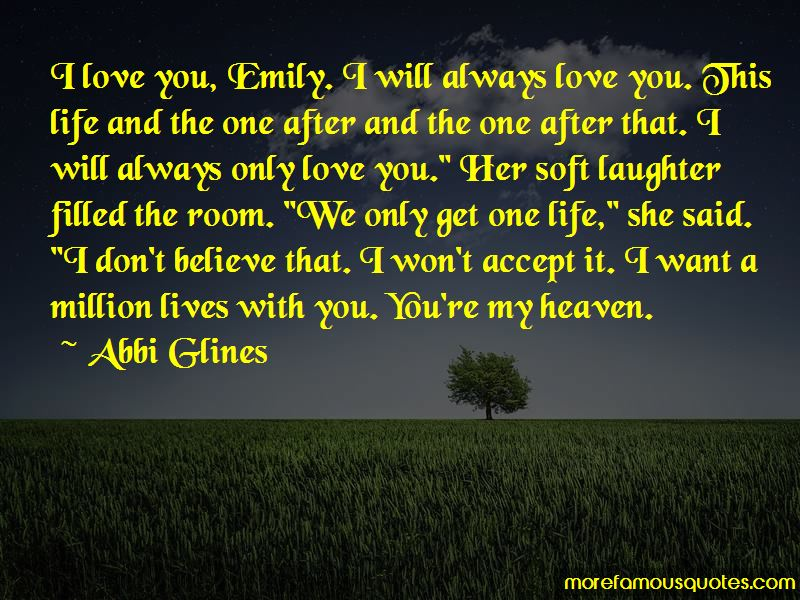 You're My Heaven Quotes