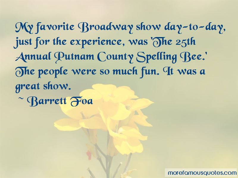 25th Annual Putnam Spelling Bee Quotes