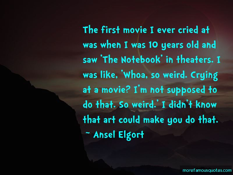A Notebook Movie Quotes