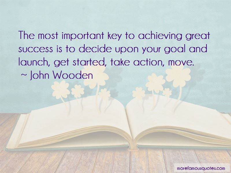 Achieving Great Success Quotes