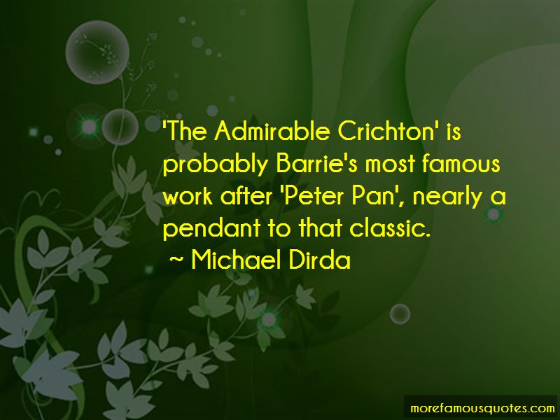 Admirable Crichton Quotes
