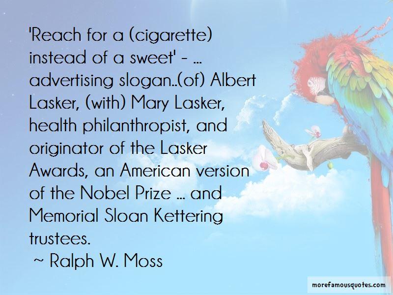 Albert Lasker Quotes