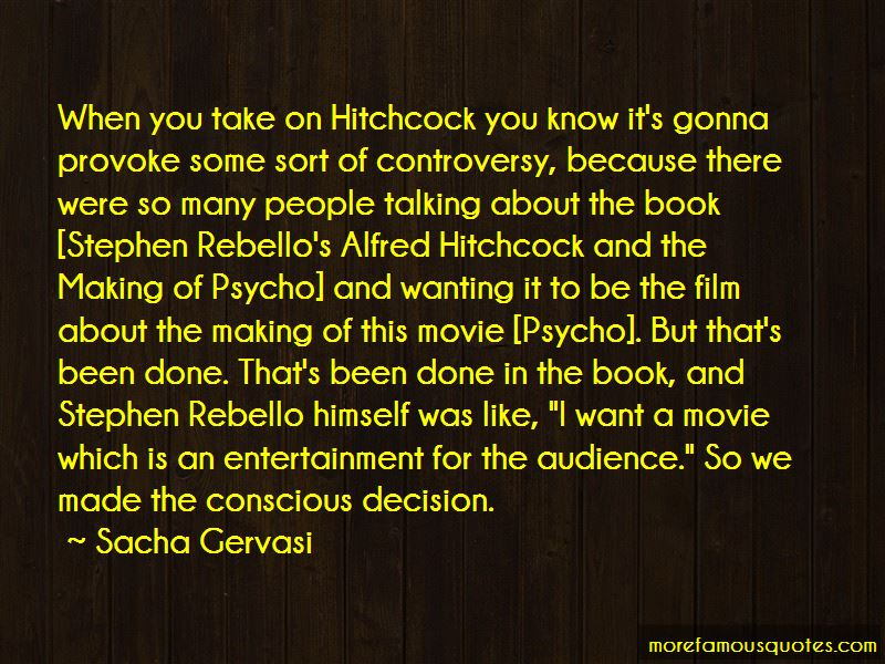 Alfred Hitchcock Psycho Movie Quotes