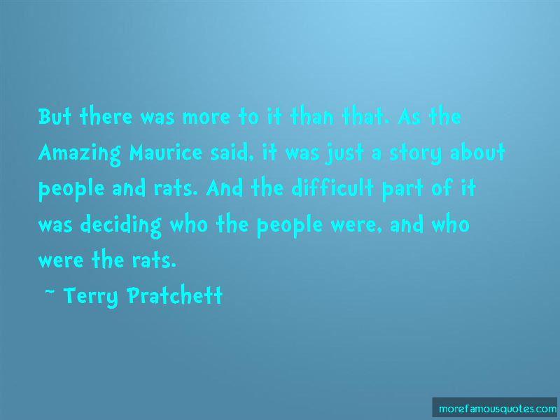 Amazing Maurice Quotes