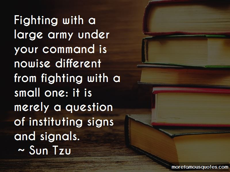 Army Signals Quotes