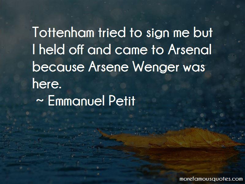 Arsenal Tottenham Quotes