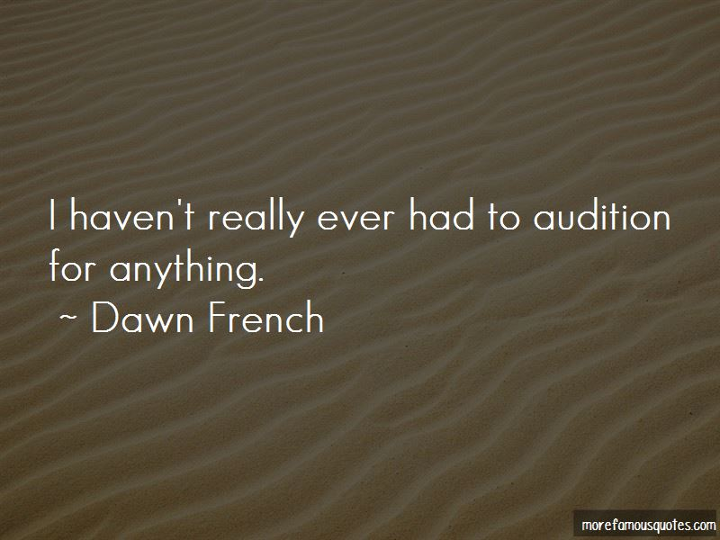 Audition Quotes