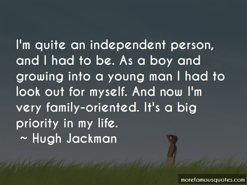 Boy Growing Into A Man Quotes