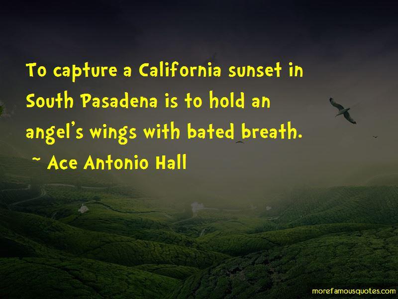 California Sunset Quotes