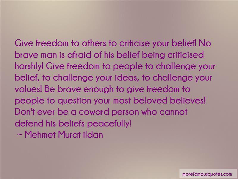 Challenge Beliefs Quotes