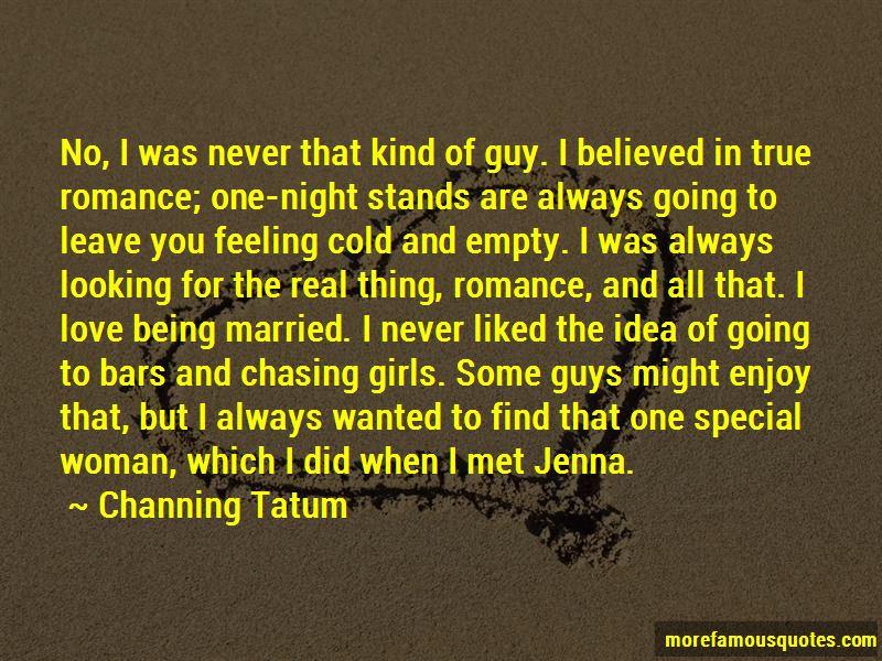 Chasing True Love Quotes. U201c