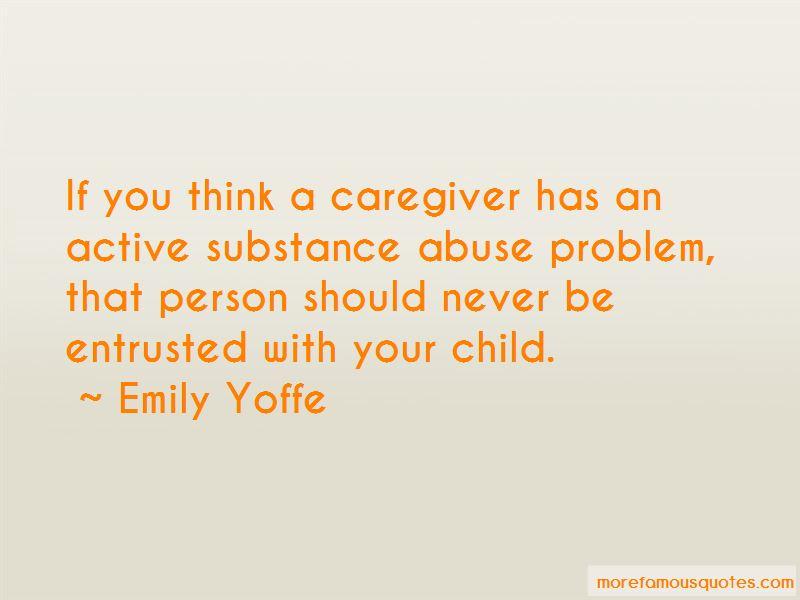 Child Caregiver Quotes Pictures 2