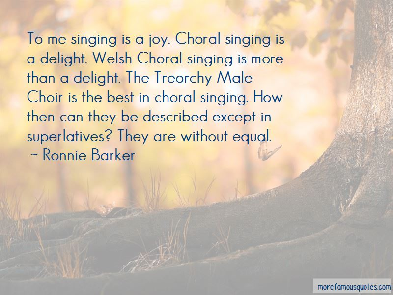 Choral Singing Quotes