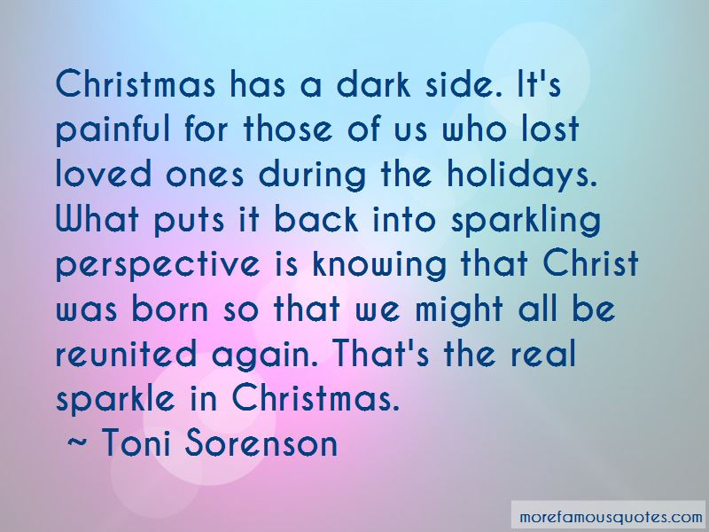 Christmas Lost Loved Ones Quotes: top 1 quotes about ...