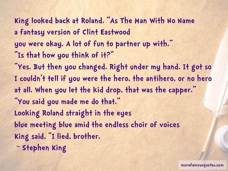 Clint Eastwood Man With No Name Quotes